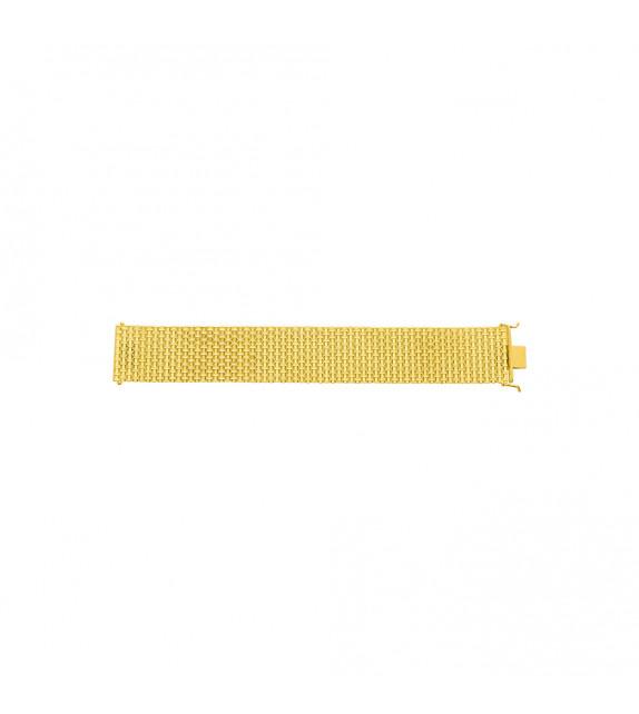 Chaîne Femme - Or 18 Carats - Largeur chaîne : 27 mm - Longueur : 18 cm
