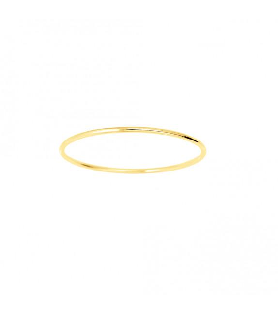 Jonc Femme - Or 18 Carats - Diamètre : 2 mm