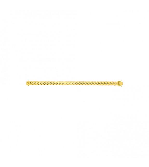 Chaîne Homme - Or 18 Carats - Largeur chaîne : 8 mm - Longueur : 18 cm