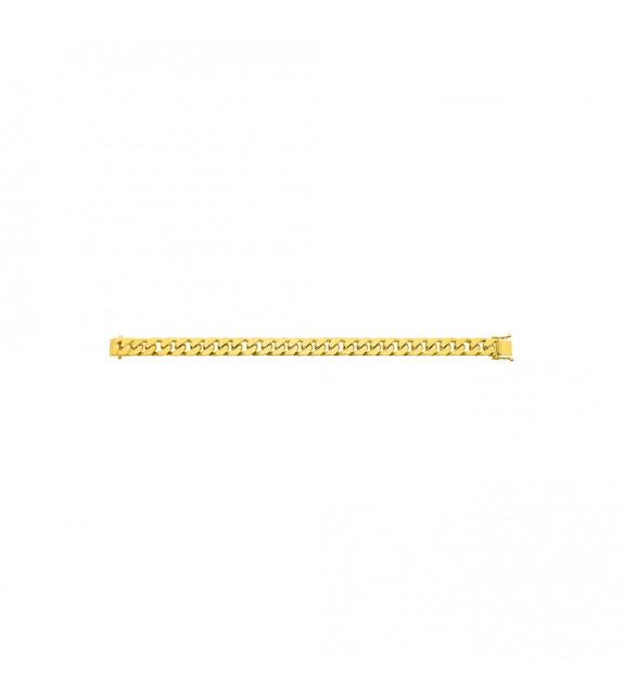 Chaîne Homme - Or 18 Carats - Largeur chaîne : 9 mm - Longueur : 18 cm