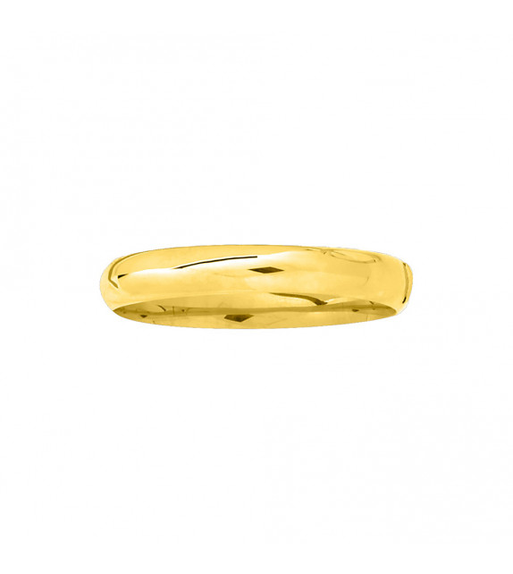 Jonc Femme - Or 18 Carats - Diamètre : 11 mm - Largueur : 11 mm