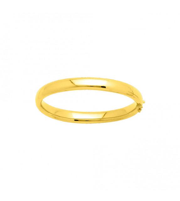 Jonc Femme - Or 18 Carats - Diamètre : 8 mm