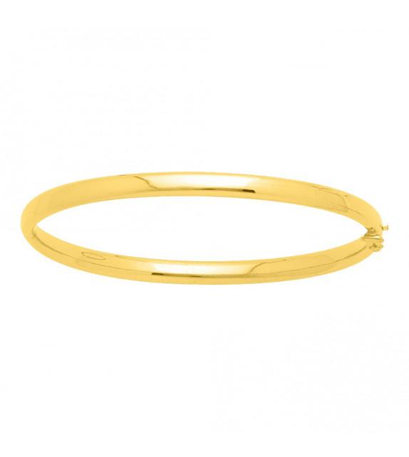 Jonc Femme - Or 18 Carats - Diamètre : 4 mm