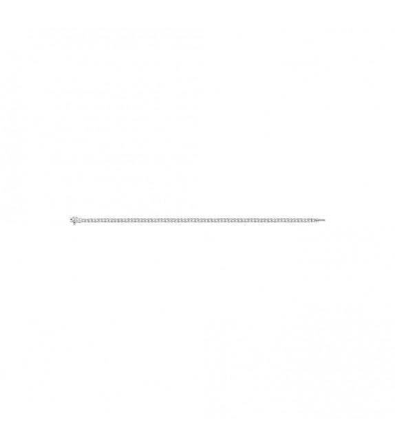Bracelet Femme - Or 18 Carats - Diamant 0,75 Carats - Longueur : 18 cm
